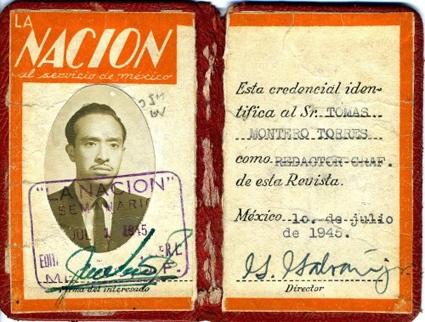 """Acreditación de """"La Nación"""""""