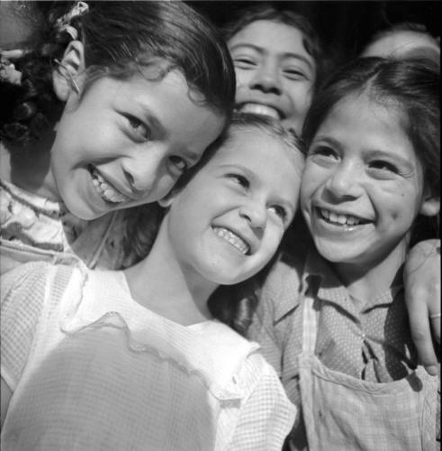 La risa de las niñas