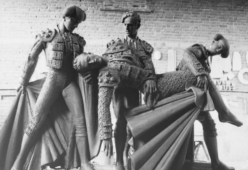 Otra obra del escultor valenciano Alfredo Just